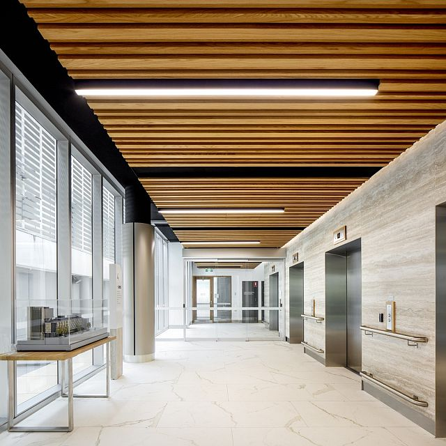 Maximum Calacatta and Travertino. St Vincent's Hospital, Sydney by Hassell - 04.jpg