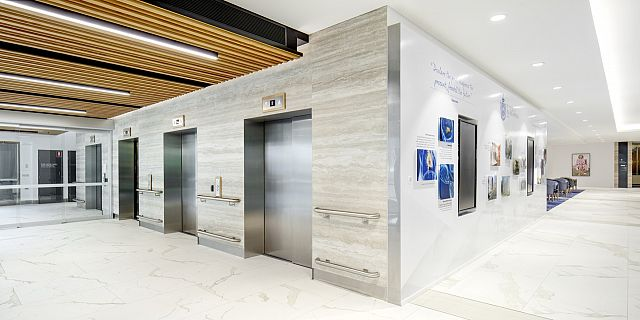 Maximum Calacatta and Travertino. St Vincent's Hospital, Sydney by Hassell - 03.jpg